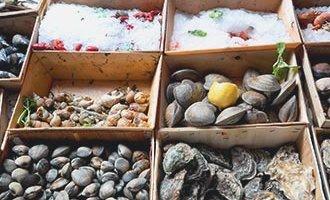 Frutti di mare a Rochefort