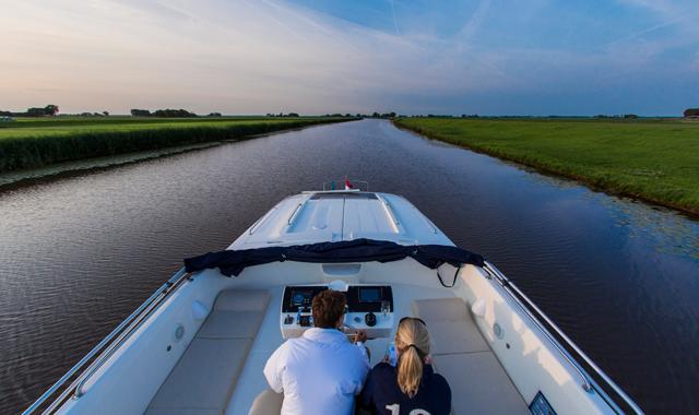 E se visitaste l'Olanda in barca?